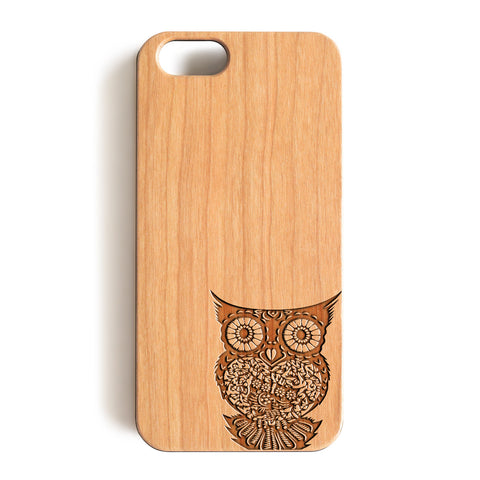 Wood Case, The Owl Wood-Pattern Case For iPhone 6 7 Case 4.7'' iPhone 6 7 Plus Case 5.5''