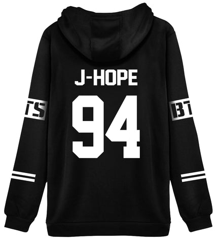 KPOP BTS Hoodie Sweater 94 J-Hope Jacket Pullover