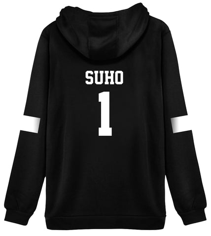 KPOP EXO Hoodie Sweater 1 SUHO Jacket Pullover