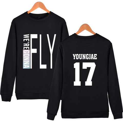 Kpop GOT7 All Members Sweater Unisex Pullover Sweatershirt YOUNGJAE 17