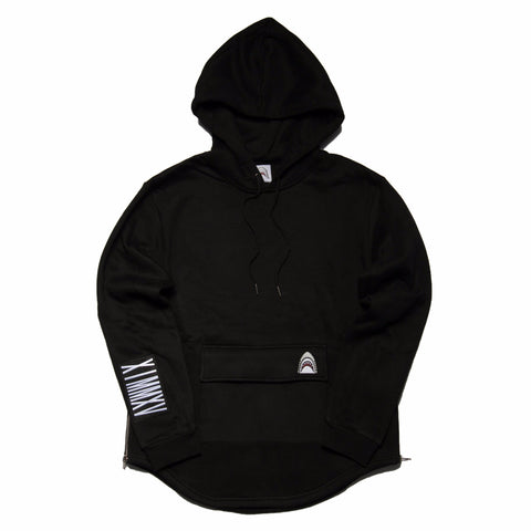"""Big Pocket"" Black Cozy Hoodie"