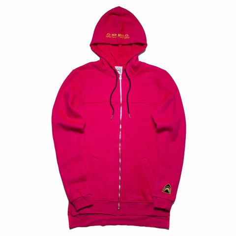"""New Wave"" Infrared Zip-up Cozy Hoodie"
