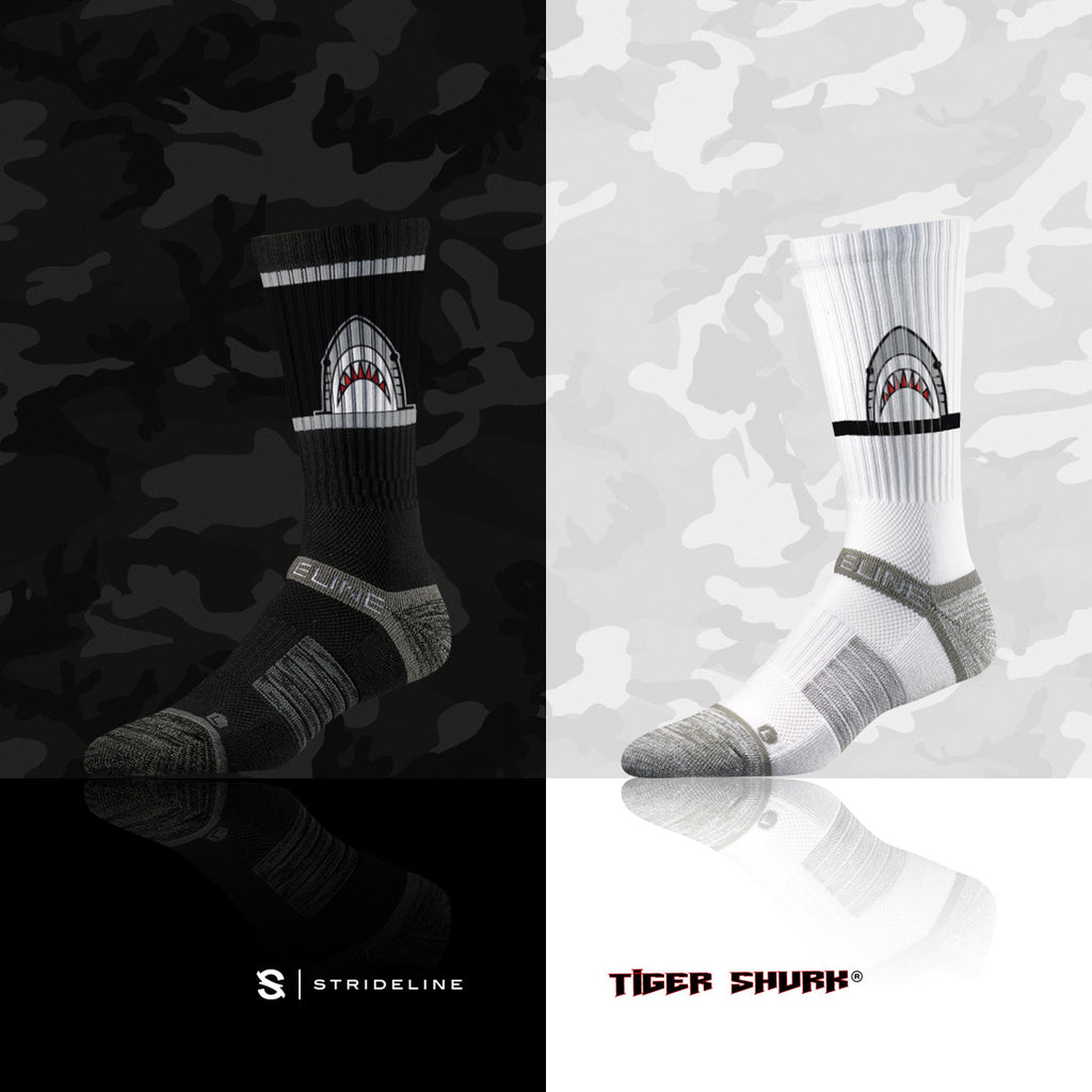 TIGER SHVRK x STRIDELINE SOCKS