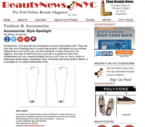 Beauty News Accessories