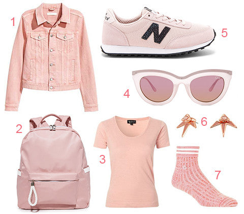 Millennial Pink Athleisure Fashion