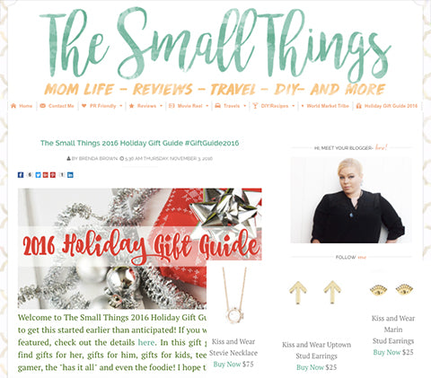 the small things holiday gift guide