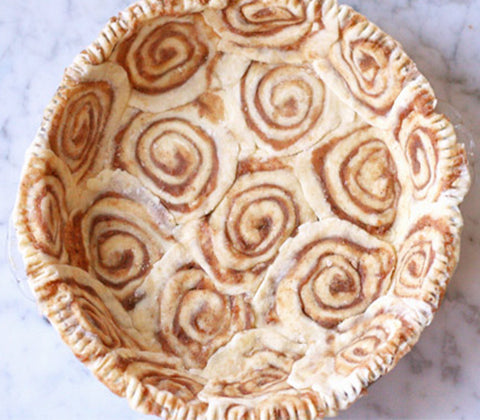 cinnamon roll pie crust recipe