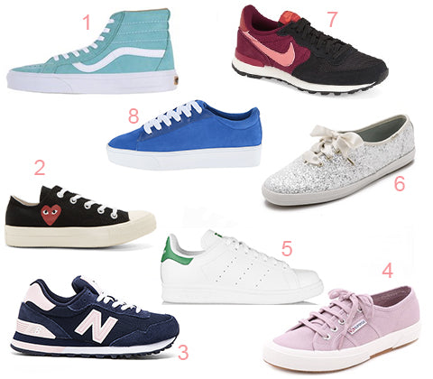 fashion-forward sneakers