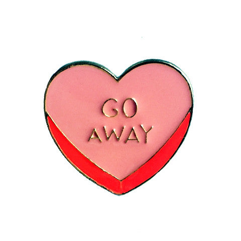 BEVERLY HEART PIN