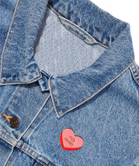 BEVERLY HEART PIN - Kiss and Wear