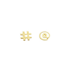FIDI STUD EARRINGS - Kiss and Wear