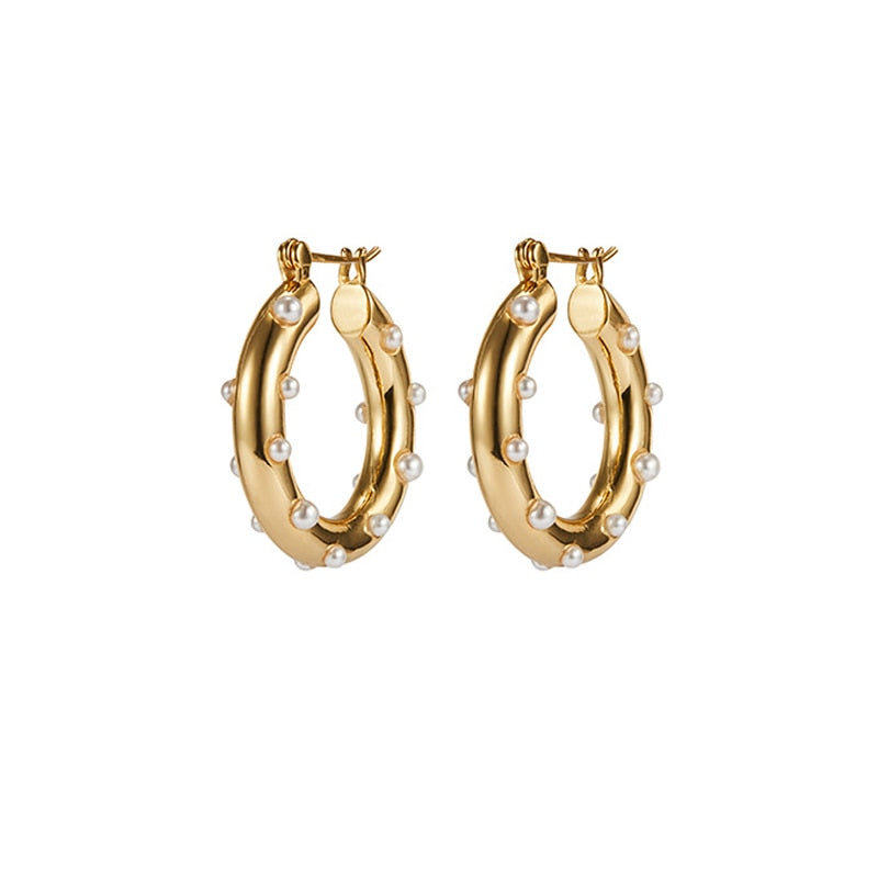 SHERRILL HOOP EARRINGS