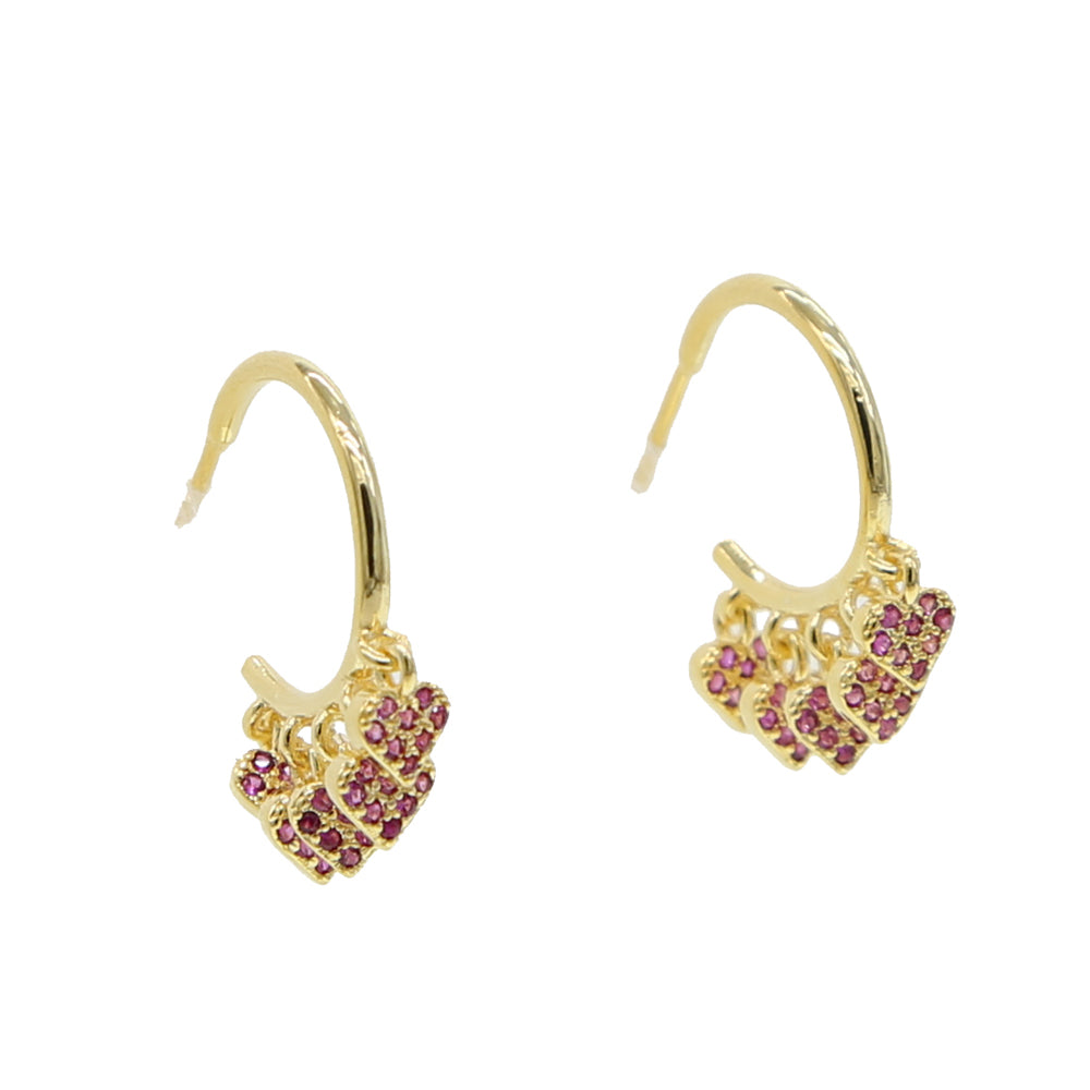 FAIRFAX HOOP EARRINGS