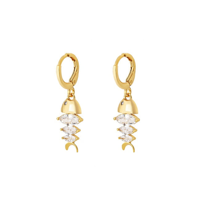 NORWICH DROP EARRINGS