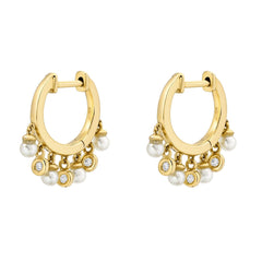 AGOURA HOOP EARRINGS