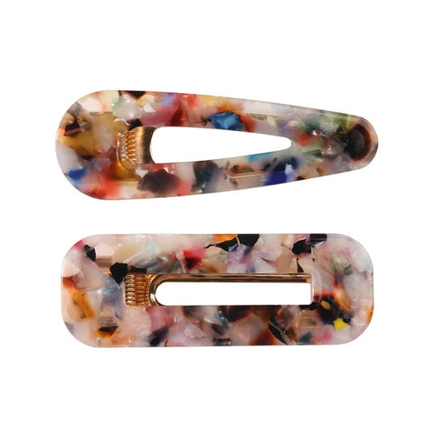 BERNADINO SET OF TWO HAIR CLIPS