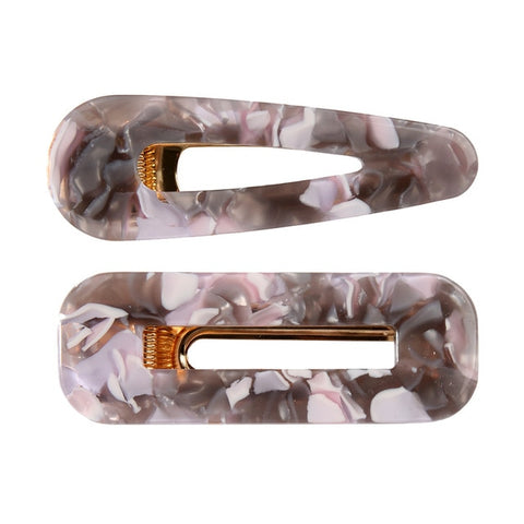 LOMITA SET OF TWO HAIR CLIPS