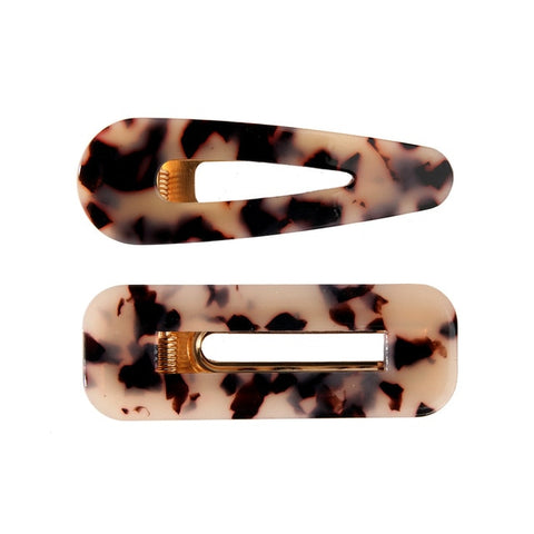 GLENDORA SET OF TWO HAIR CLIPS