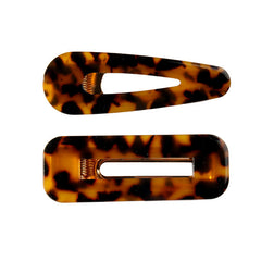 CORDOVA SET OF TWO HAIR CLIPS