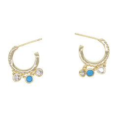 COSTA HOOP EARRINGS