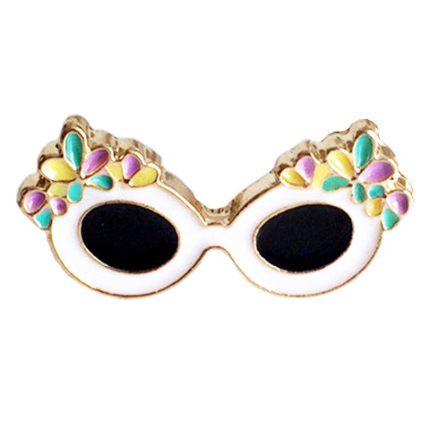 DEL MAR SUNGLASSES PIN - Kiss and Wear