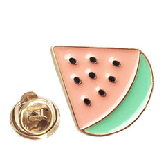 MONTAUK WATERMELON PIN - Kiss and Wear