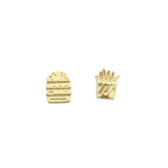 WEST 4TH STUD EARRINGS - Kiss & Wear  - 1