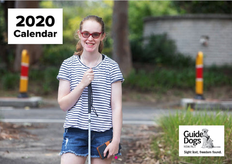 Guide Dogs 2020 Large Print A3 Calendar - Merchandise Gift