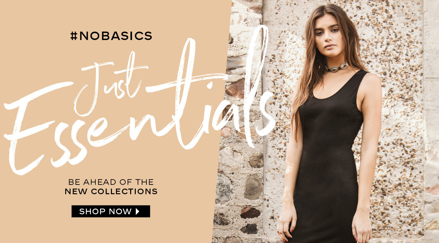 Just Essentials Be Ahead of the New Collection