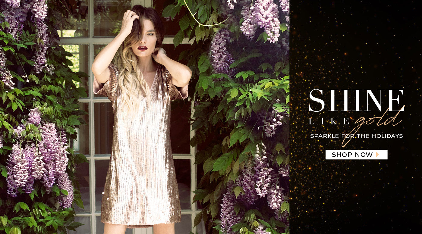 Shine Like Gold|Sparkle For The Holidays