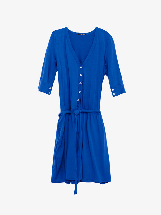 Grecia Slouchy Shirtdress