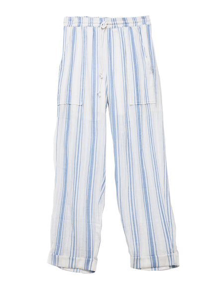 Gauze Beach Drawstring Pants