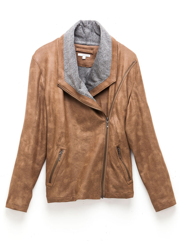Savannah Vegan Leather Jacket