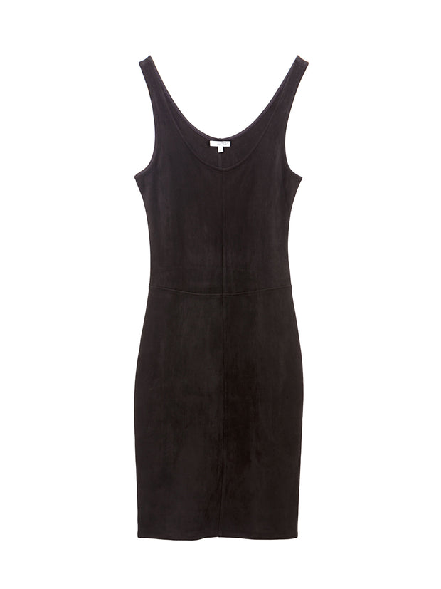 Justine Vegan Leather Dress