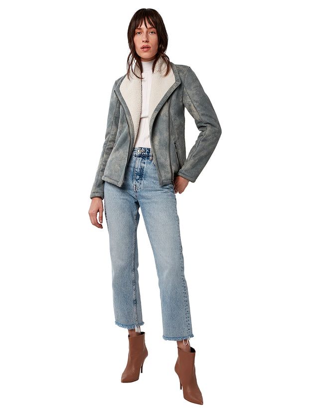 Savannah Vegan Shearling Jacket
