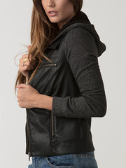 Sante Vegan Leather Jacket