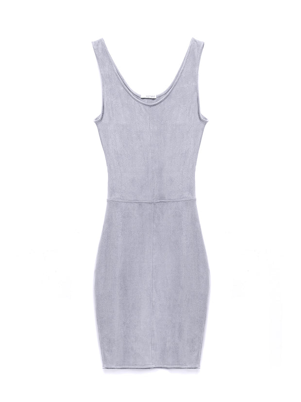 Justine Vegan Suede Dress