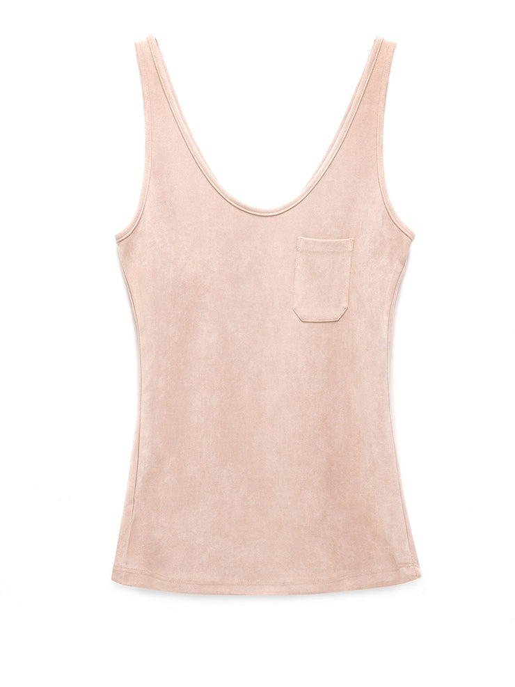 Carolina Vegan Suede Tank