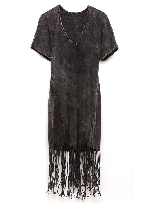 Silver Springs Fringe Dress