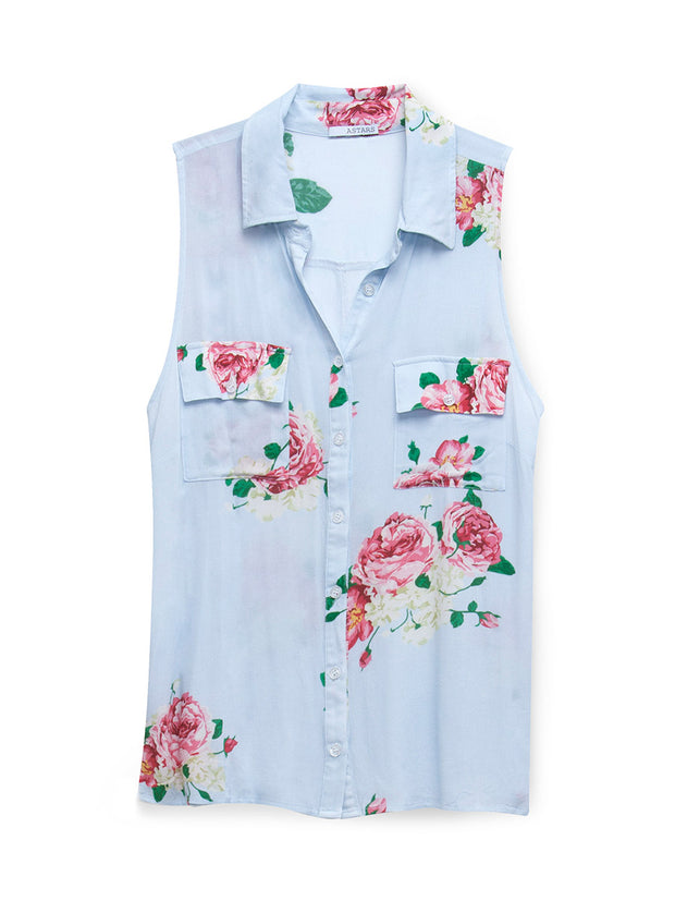 Havana Sleeveless Blouse