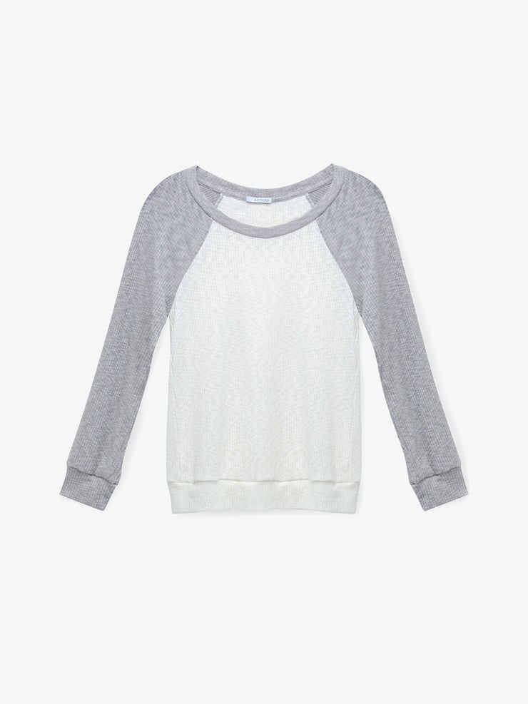 Stormy Seas Raglan Top