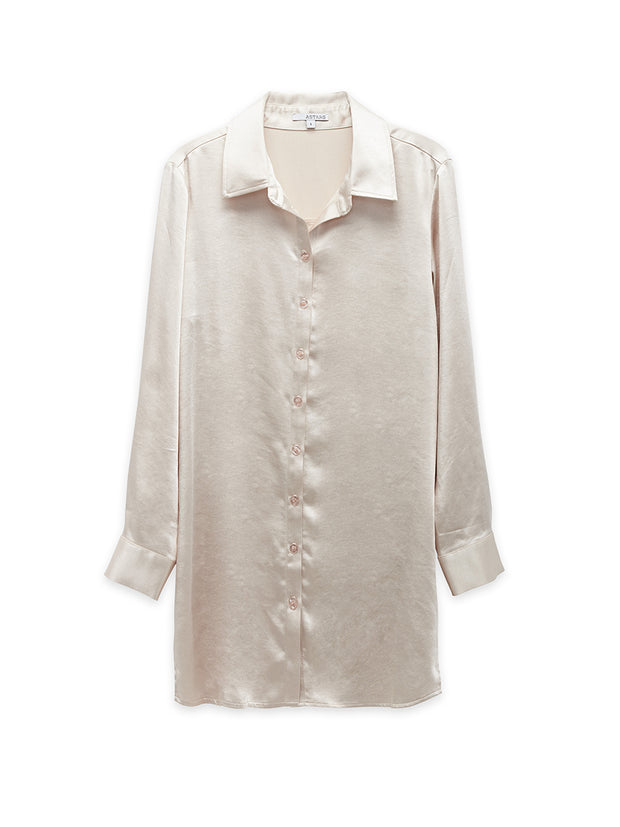 Inez Button Down Tunic