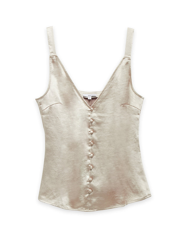 Mimosa Washed Satin Cami