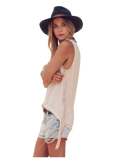 Desert Nights Fringe Top