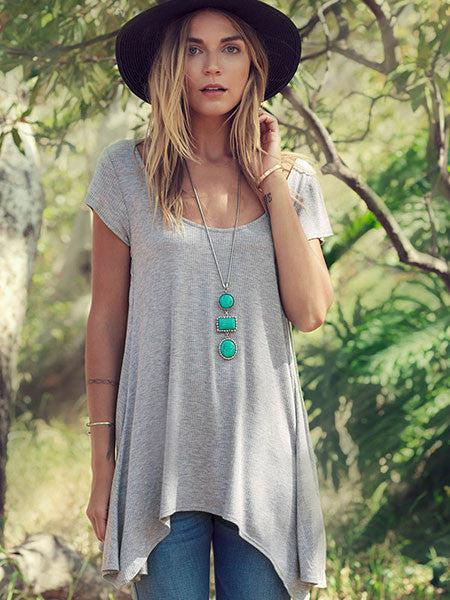 Feather Swing Tunic