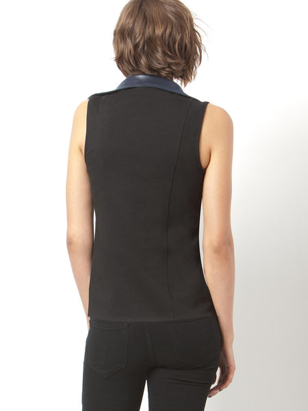 GIRLS NIGHT OUT VEGAN LEATHER VEST