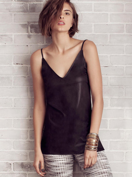 Gypsy Leather Tank