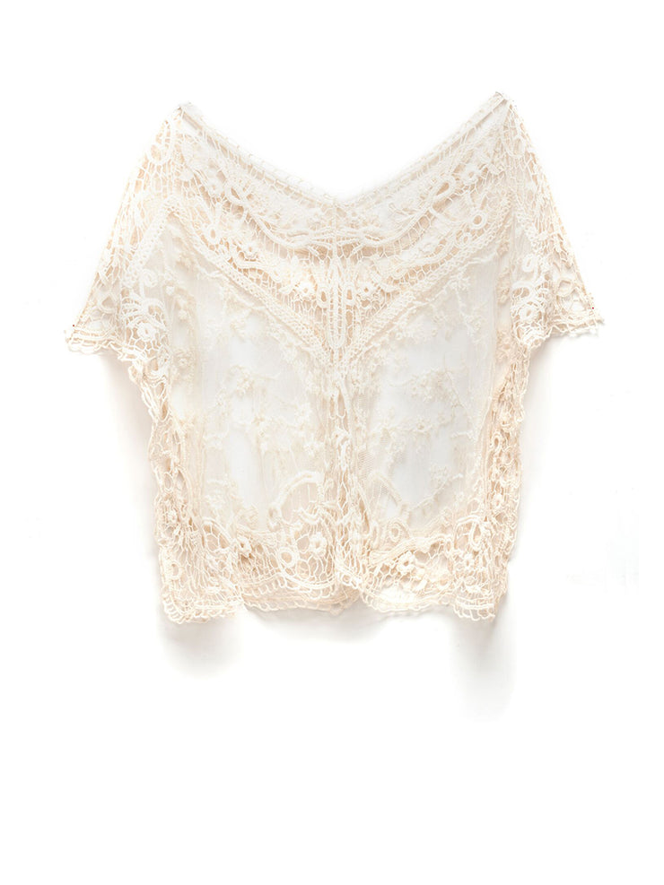 Marguerite Crochet Top