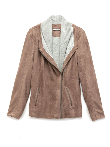 Savannah Vegan Suede Jacket