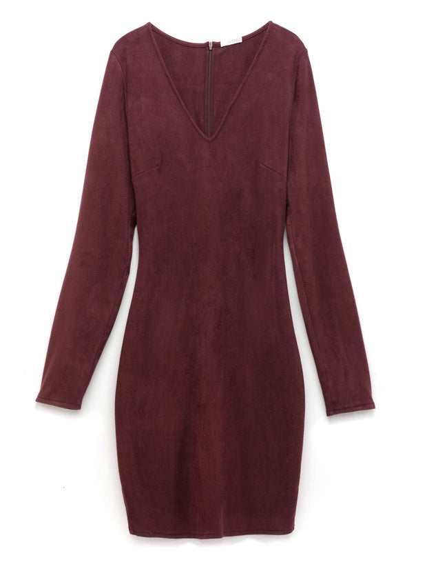 Madrid Vegan Suede Dress